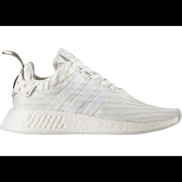 5bfc3a107 adidas Shoes - Adidas NMD R2 primeknit vintage white womens 7 1 2